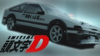Initial D AE86 RC Drift!