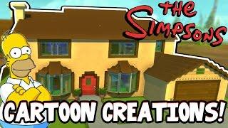 Scrap Mechanic CREATIONS! - CRAZY CARTOON CREATIONS!! [#27] W/AshDubh | Gameplay |