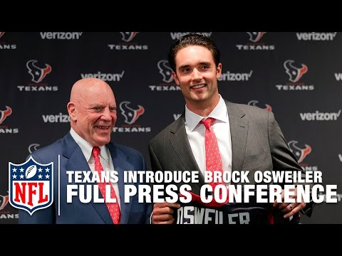 Video: Brock Osweiler Texans Press Conference (Full) | NFL News