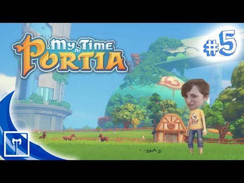 My Time At Portia - How To Copper (Episode 5) (The Dungeon Divers)
