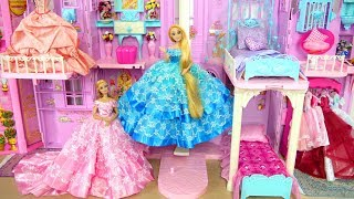 Video Princess Barbie Rapunzel Pink Purple Castle All Day Routine! Morning to Night Putri Barbie Castelo MP3, 3GP, MP4, WEBM, AVI, FLV Juli 2018