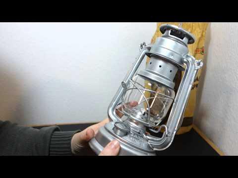 Feuerhand Sturmlampe | Verzinkte Petroleumlampe | altmodische Beleuchtung