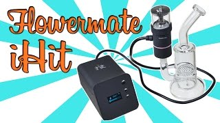PORTABLE E-NAIL + HERB VAPORIZER! - (iHit Product Review) by Strain Central