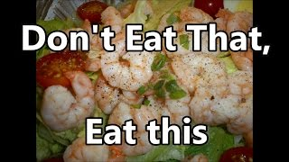 Healty Seafoods Tuna on Rye recipe ~ Don't eat That, Eat This by Louisiana Cajun Recipes