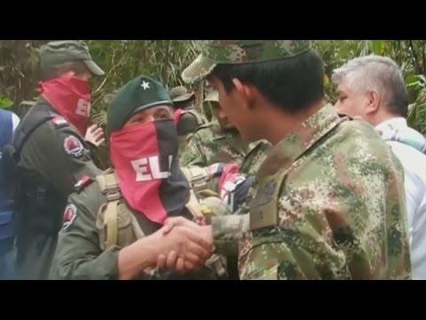 Κολομβία: Ο δρόμος προς την ειρήνη περνά και από τους αντάρτες ELN