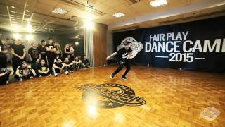 Lando Wilkins | Dope Walk | Fair Play Dance Camp 2015 | Winter