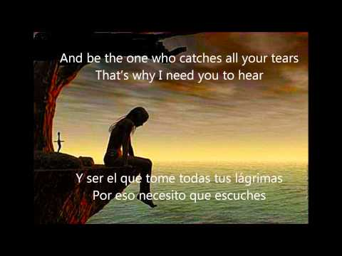 The Reason - Hoobastank - Letra (Ingles - Español)