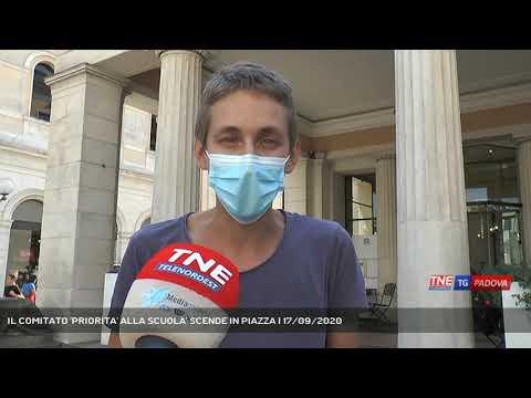 IL COMITATO 'PRIORITA' ALLA SCUOLA' SCENDE IN PIAZZA | 17/09/2020