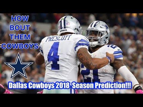 Dallas Cowboys 2018 Season Predictions!!!