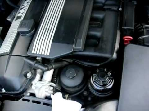 Guide to Checking your BMW E46 E39 E53 E83 Oil Level and diagnosising Oil leaks