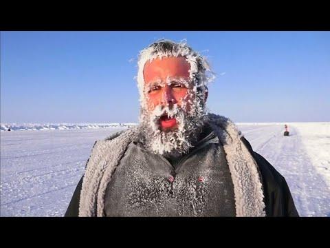 Nordpol: Marathon bei minus 30 Grad