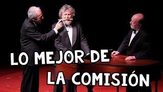 Les Luthiers es un grupo argentino de humor que utiliza la música como un elemento fundamental de sus actuaciones.