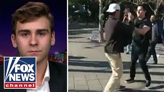 Berkeley student who recorded attack rips university response