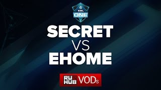 Secret vs EHOME, game 2