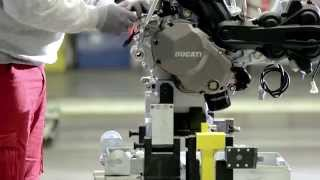 4. New Multistrada 1200 - Assembly video