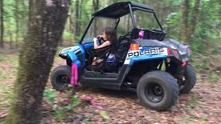 8. Kids first Polaris RZR 170 ride