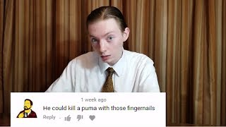 Video I React To Cruel Comments About My Fingernails MP3, 3GP, MP4, WEBM, AVI, FLV Desember 2018