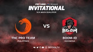 TNC Pro Team против Boom-ID, Первая карта, SEA квалификация SL i-League Invitational S3