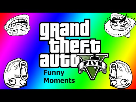 GTA 5 Funnys and Fails: Car Roulette: (OMG BOOM)
