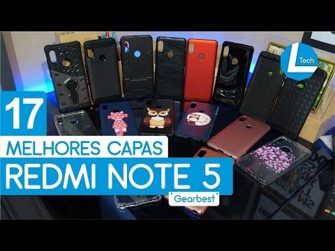 As Melhores Capas Xiaomi Redmi Note 5 | L Tech