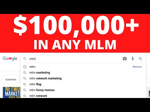 How To Make $100,000+ In Network Marketing - Make Money Online