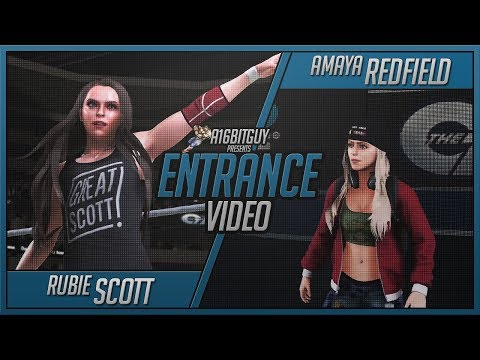 WWE 2K18 | Amaya Redfield | Rubie Scott | Entrance Video
