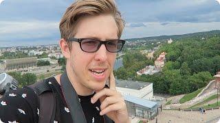 Vilnius Lithuania  city photos : American explores Vilnius Lithuania! | Evan Edinger Travel