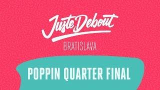 Greenteck & Nelson vs Yared & Skywalker – Juste Debout Nordic 2018 Popping Quarter Final