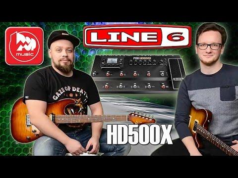 LINE 6 POD HD500X - топовый гитарный процессор
