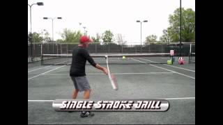 Tennis Highlights, Video - 2 Minute Clinic Ball Machine Drills