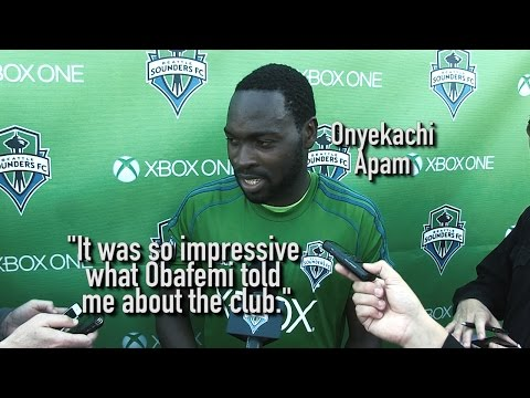 Video: Interview: Onyekachi Apam on Signing with Sounders FC