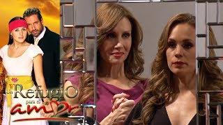 Resumen: ¡Gala está obsesionada con destruir a Luciana!  Un refugio para el amor - Televisa