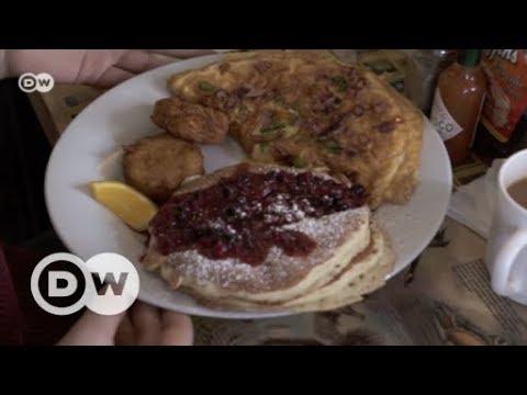 Berlin: Typisch amerikanisches Frühstück im