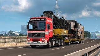 "Hi all, today a little ride with an old but still stong Volvo F16.Truck and its sounds are private.Next release of my modding : ""Daf stock sound"" for the end of this week."