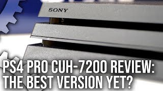 PlayStation 4 Pro CUH-7200 Review: The Quietest - And Best - Pro Yet?