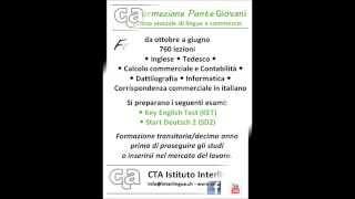 Impara l'inglese e il tedesco con il CTA Istituto Interlingue, la tua scuola di riferimento a Lugano.
