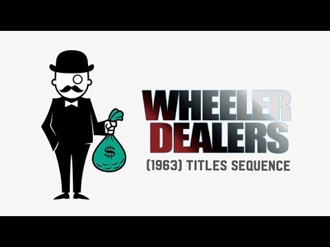 Disney's The Wheeler Dealer Opening Credits (1963) DVD 2001