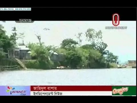 Preparations on at flood risk areas (21-06-2018)