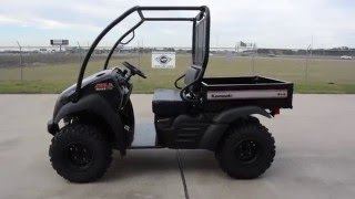 10. $8,099:  2016 Kawasaki Mule 610 XC Super Black Overview and Review