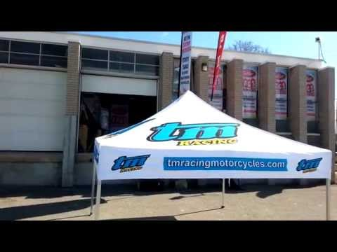 10x10 Custom made Tent for TM Racing by outletTags