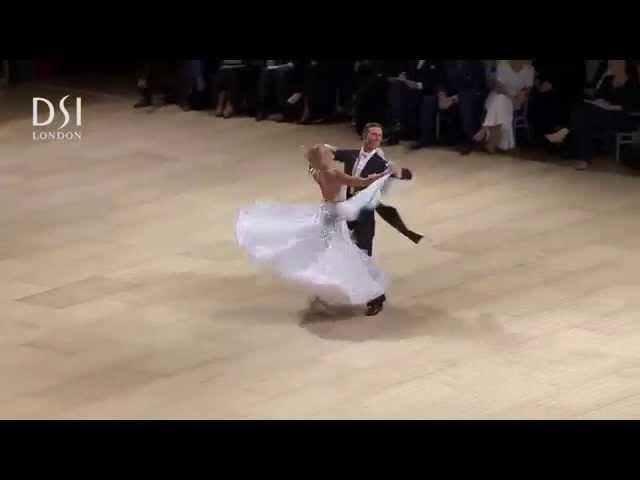 Arunas Bizokas & Katusha Demidova Quickstep - UK Open 2015