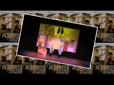 DVD by ERP: Modigliani - the Cursed Artist. Thomas Edur's ballet on the music by Tauno Aints. Live