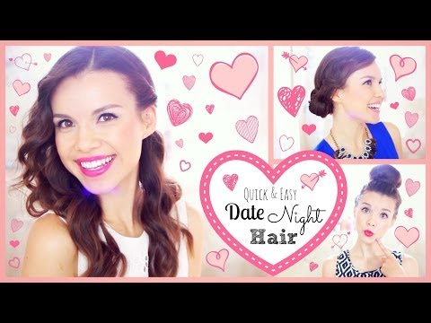 date - Send me a photo of YOUR date night hair! Twitter: http://twitter.com/missglamorazzi Insta: http://instagram.com/thegridmonster Watch my Everyday Skincare + M...