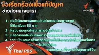 วาระประเทศไทย - ปัญหายางพารา