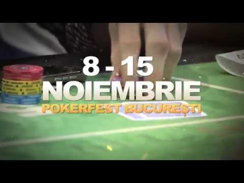 Sateliti PokerFest Bucuresti, Noiembrie 2015, in All-In Poker Club Bucuresti