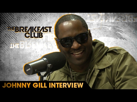 Johnny Gill Interview W/The Breakfast Club