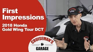 9. First Impressions and Review Of My 2018 Honda Gold Wing Tour DCT