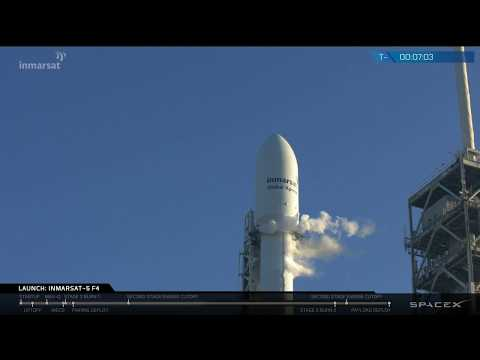 Inmarsat-5 Flight 4 Launch Webcast © SpaceX