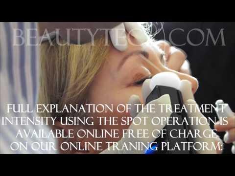 Eyelid tightening example using Plasma, BeautyTeck