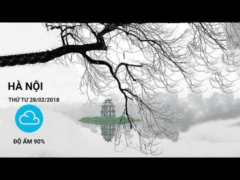 Thời tiết hôm nay ngày 28/02 | VTC1 - Thời lượng: 4 phút, 34 giây.